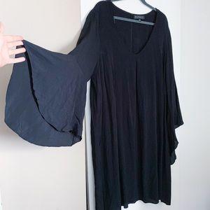 Eloquii Bell Sleeve Dress